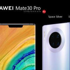 ¿Vas a ser propietario de un Huawei Mate 30 o Mate 30 Pro? Te interesará esta información