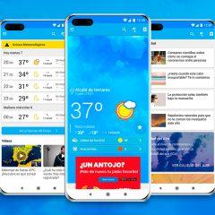 Eltiempo.es disponible en AppGallery de Huawei