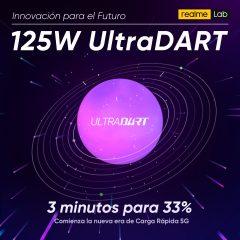 realme presenta UltraDART, la carga rápida de 125W
