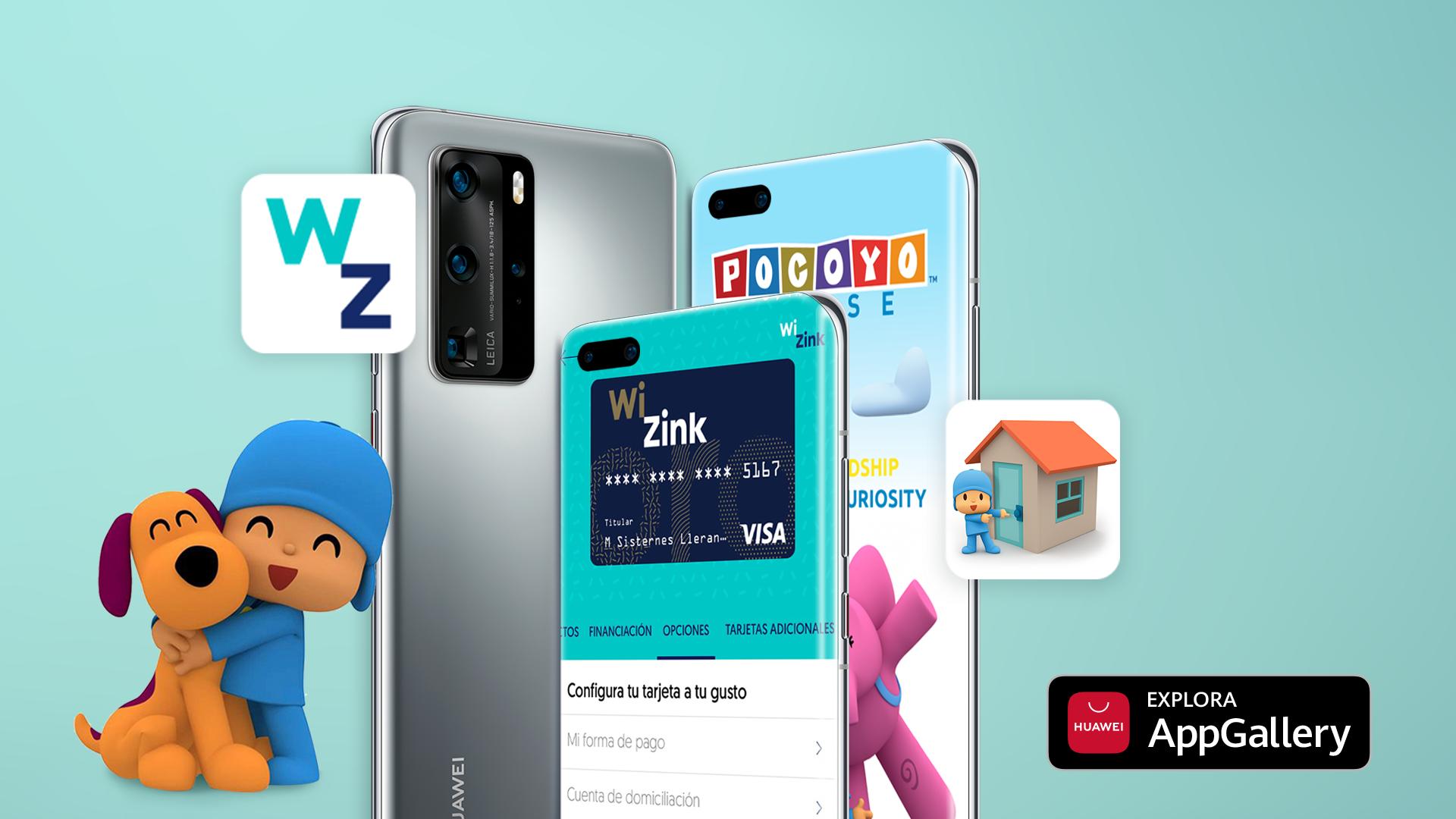 Pocoyo House y WiZink Bank ya en la Huawei AppGallery - Droid Panic