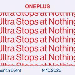 OnePlus 8T, sigue su presentación hoy a partir de las 16:00