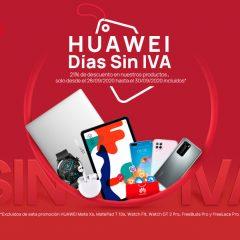 Días sin IVA en Huawei hasta el 30 de septiembre