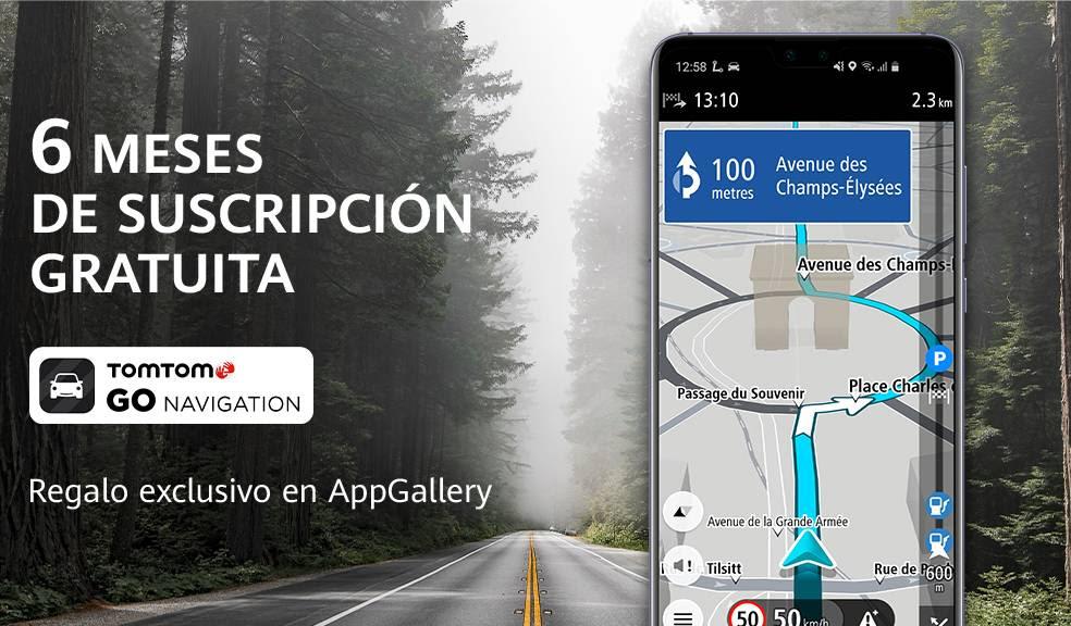 Ofertón para TomTom GO Navigation en AppGallery
