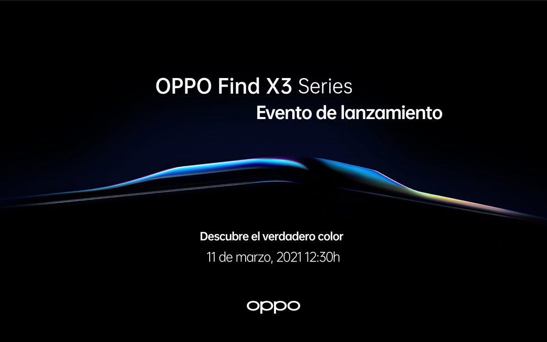OPPO Find X3 Pro, el primero en capturar y reproducir mil millones de colores
