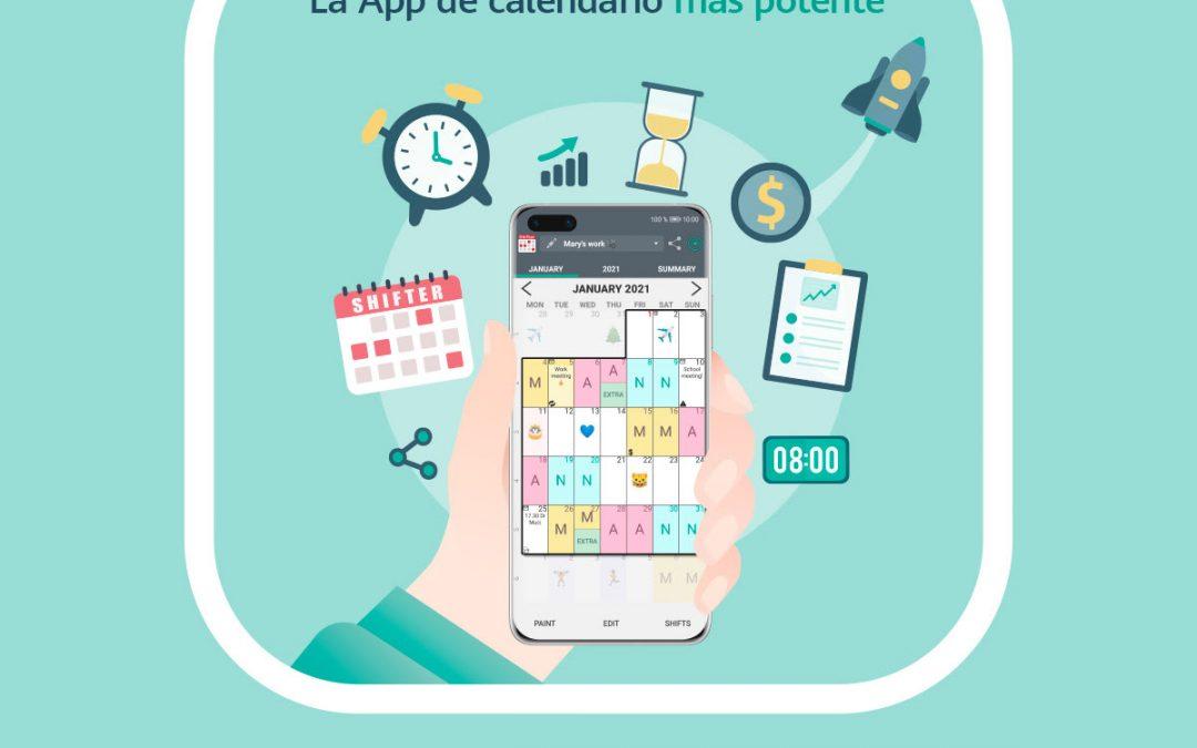 La app española Calendario de Turnos (Shifter) llega a China a través de Huawei AppGallery