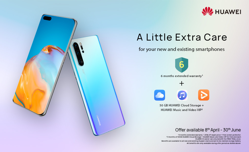 Huawei amplía la garantía de sus dispositivos
