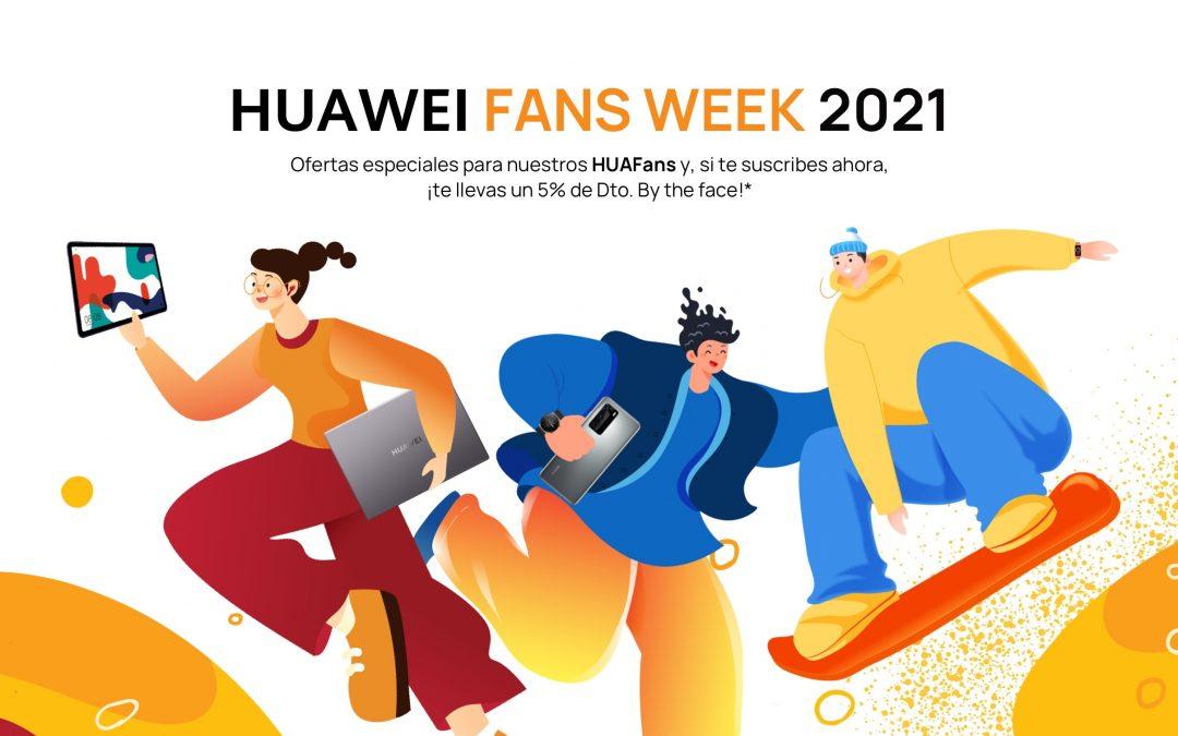 HUAWEI Fans Week 2021 con premios para usuarios de Huawei